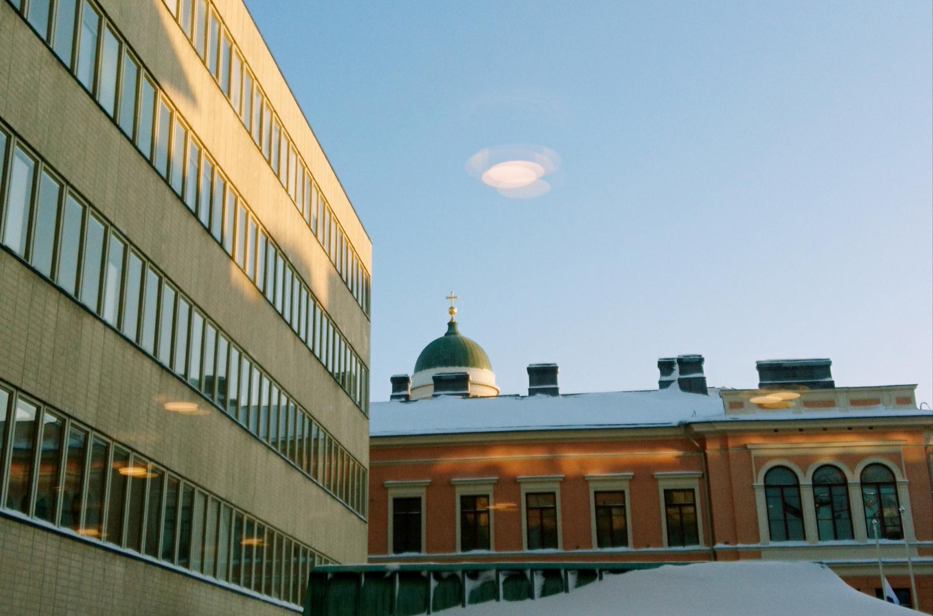 Helsingin yliopiston Porthania.
