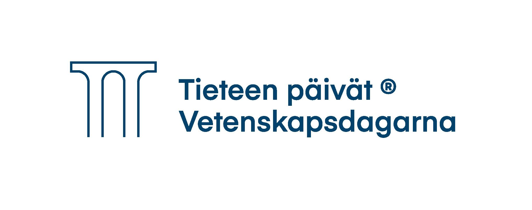 Tieteen päivät logo.